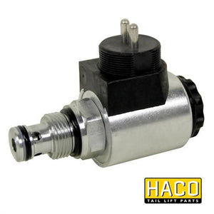 Solenoid valve SA 24V HACO to Suit MBB Palfinger 67282353. , Haco Tail Lift Parts - HACO, Nationwide Trailer Parts Ltd