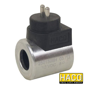 12v Coil Kostal HACO to suit Bar Cargo 101124768 , Haco Tail Lift Parts - Bar Cargolift, Nationwide Trailer Parts Ltd