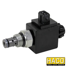 Solenoid Valve HACO 24 Volt to Suit Zepro 21662 & 21328 , Haco Tail Lift Parts - HACO, Nationwide Trailer Parts Ltd