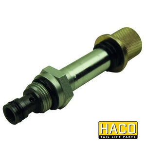 Cartridge double acting Ø12,7mm HACO to suit Zepro 21621 , Haco Tail Lift Parts - HACO, Nationwide Trailer Parts Ltd