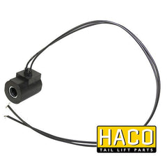 Coil 12V wire HACO to suit 4696-108-2 & 32771 , Haco Tail Lift Parts - HACO, Nationwide Trailer Parts Ltd