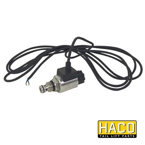 12v Solenoid valve complete HACO to suit Bar Cargo 101125168 , Haco Tail Lift Parts - Bar Cargolift, Nationwide Trailer Parts Ltd