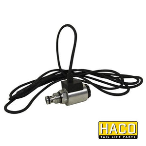 12v Solenoid valve complete HACO to suit Bar Cargo 101125166 , Haco Tail Lift Parts - Bar Cargolift, Nationwide Trailer Parts Ltd