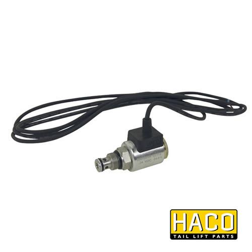 24v Solenoid valve complete HACO to suit Bar Cargo 101125165 , Haco Tail Lift Parts - Bar Cargolift, Nationwide Trailer Parts Ltd