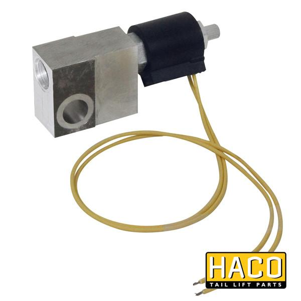 Valveblock + valve 12V HACO to suit 4697-076-6 , Haco Tail Lift Parts - HACO, Nationwide Trailer Parts Ltd