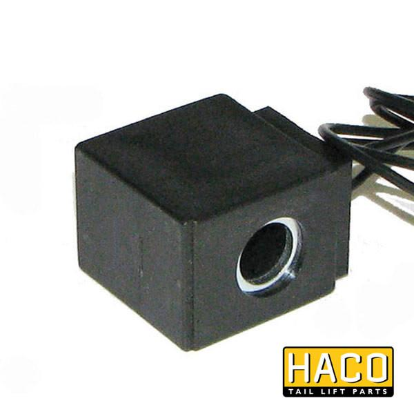 Coil 24V wire HACO Ø13x39 to suit E0242