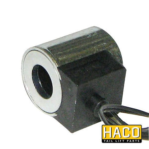 Coil 24V wire Hydac to suit E0242.H , Haco Tail Lift Parts - Dhollandia, Nationwide Trailer Parts Ltd