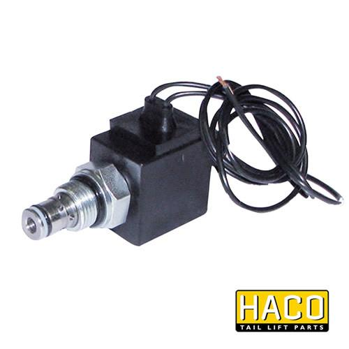 Solenoid valve cable connection HACO 24V to suit V036.K , Haco Tail Lift Parts - Dhollandia, Nationwide Trailer Parts Ltd