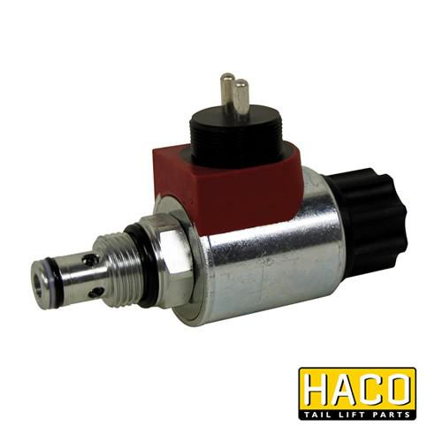 Solenoid valve HACO 12V HACO to suit V037.H , Haco Tail Lift Parts - Dhollandia, Nationwide Trailer Parts Ltd - 1
