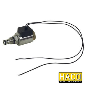 Solenoid valve cable connection HACO 24V to suit V036.HK , Haco Tail Lift Parts - Dhollandia, Nationwide Trailer Parts Ltd