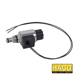 Solenoid valve cable connection HACO 12V to suit V037.HK , Haco Tail Lift Parts - Dhollandia, Nationwide Trailer Parts Ltd