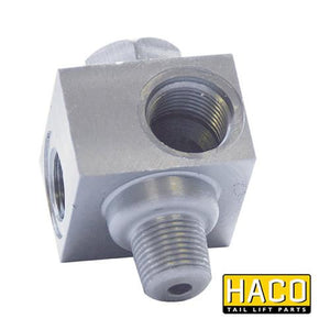 Valveblock safety valve HACO to suit Dhollandia V032 , Haco Tail Lift Parts - Dhollandia, Nationwide Trailer Parts Ltd