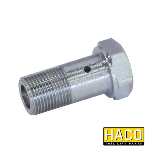 Banjo brake valve HACO to suit Dhollandia K0109.15 , Haco Tail Lift Parts - Dhollandia, Nationwide Trailer Parts Ltd