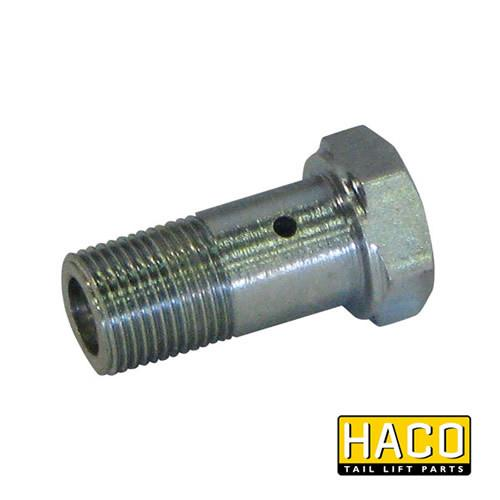 Banjo brake valve HACO to suit Dhollandia K0109.25 , Haco Tail Lift Parts - Dhollandia, Nationwide Trailer Parts Ltd - 1