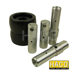 Platform roller set S4-A2 HACO to suit Bar Cargo 101131686