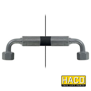 Hose HACO - 2650mm length , Haco Tail Lift Parts - Dhollandia, Nationwide Trailer Parts Ltd
