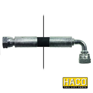 2260mm Length Hose HACO to suit Bar Cargo 101121935 , Haco Tail Lift Parts - Bar Cargolift, Nationwide Trailer Parts Ltd