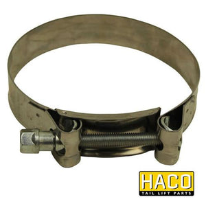 Clamp for Motor HACO suit M0120 (128-140mm) , Haco Tail Lift Parts - Dhollandia, Nationwide Trailer Parts Ltd