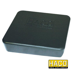 Frame Cap 120x120mm HACO to suit MBB 1363999 , Haco Tail Lift Parts - HACO, Nationwide Trailer Parts Ltd