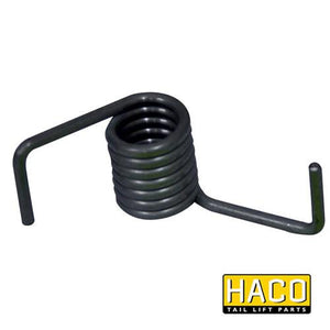 Spring pallet stopper HACO to suit Bar Cargo 101110222 , Haco Tail Lift Parts - Bar Cargolift, Nationwide Trailer Parts Ltd