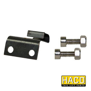 Leaf spring pallet stop HACO to suit Bar Cargo 101125791 , Haco Tail Lift Parts - Bar Cargolift, Nationwide Trailer Parts Ltd