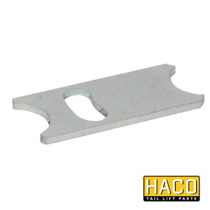 Retaining Plate HACO to suit 3546-019-2 , Haco Tail Lift Parts - HACO, Nationwide Trailer Parts Ltd