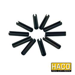 Set of 10 roll pins Ø4x20 HACO to suit 2031-002-9