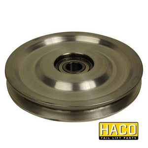 Cable pulley 1500kg HACO to suit P23 , Haco Tail Lift Parts - HACO, Nationwide Trailer Parts Ltd