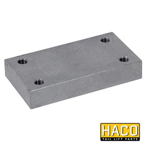 Retaining block HACO to suit 3357-159-0 , Haco Tail Lift Parts - HACO, Nationwide Trailer Parts Ltd