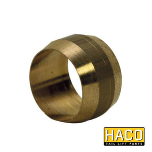 Clamping ring 10mm HACO to suit 6613M , Haco Tail Lift Parts - HACO, Nationwide Trailer Parts Ltd