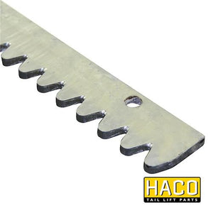 Toothstrip 1900mm SM80 HACO to suit M5405.1900 , Haco Tail Lift Parts - HACO, Nationwide Trailer Parts Ltd