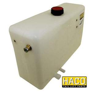 Oil Tank Right 10L - 350mm HACO to suit Dhollandia M3001 , Haco Tail Lift Parts - HACO, Nationwide Trailer Parts Ltd