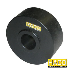 Platform roll Ø100/30-40mm HACO to suit M1999.31 , Haco Tail Lift Parts - Dhollandia, Nationwide Trailer Parts Ltd
