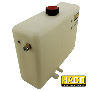 Oil Tank Left 6L - 300mm HACO to suit Dhollandia M0400 , Haco Tail Lift Parts - HACO, Nationwide Trailer Parts Ltd