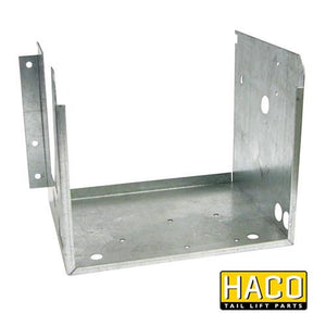 Case power pack Haco (left position) 2kW to suit Dhollandia M0405.L , Haco Tail Lift Parts - Dhollandia, Nationwide Trailer Parts Ltd