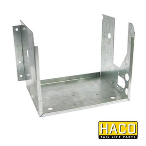 Case power pack Haco (right position) 2kW to suit Dhollandia M0405.R , Haco Tail Lift Parts - Dhollandia, Nationwide Trailer Parts Ltd