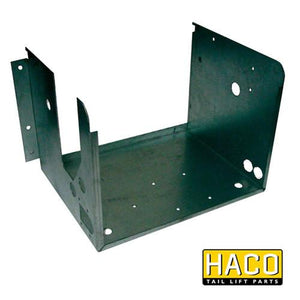 Case power pack Haco (left position) 3kW to suit Dhollandia M0406.L , Haco Tail Lift Parts - Dhollandia, Nationwide Trailer Parts Ltd