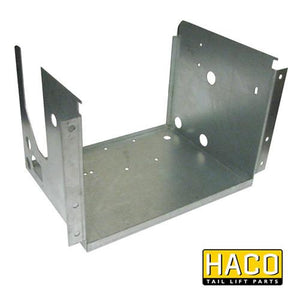 Case power pack Haco (right position) 3kW to suit Dhollandia M0406.R , Haco Tail Lift Parts - Dhollandia, Nationwide Trailer Parts Ltd