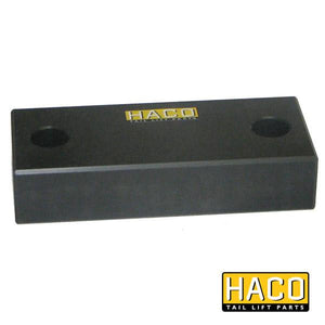 Stop rubber 118x50mm HACO to suit M1404 , Haco Tail Lift Parts - Dhollandia, Nationwide Trailer Parts Ltd