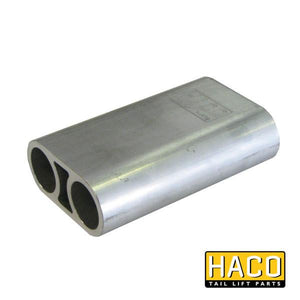 Hinge platform corner HACO to suit M0544 , Haco Tail Lift Parts - Dhollandia, Nationwide Trailer Parts Ltd
