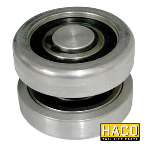 Set rollers DH-SM >2001 steel HACO to suit M0873 , Haco Tail Lift Parts - Dhollandia, Nationwide Trailer Parts Ltd