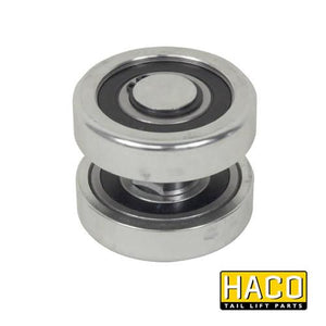 Set rollers DH-V steel HACO to suit M0873.S , Haco Tail Lift Parts - Dhollandia, Nationwide Trailer Parts Ltd