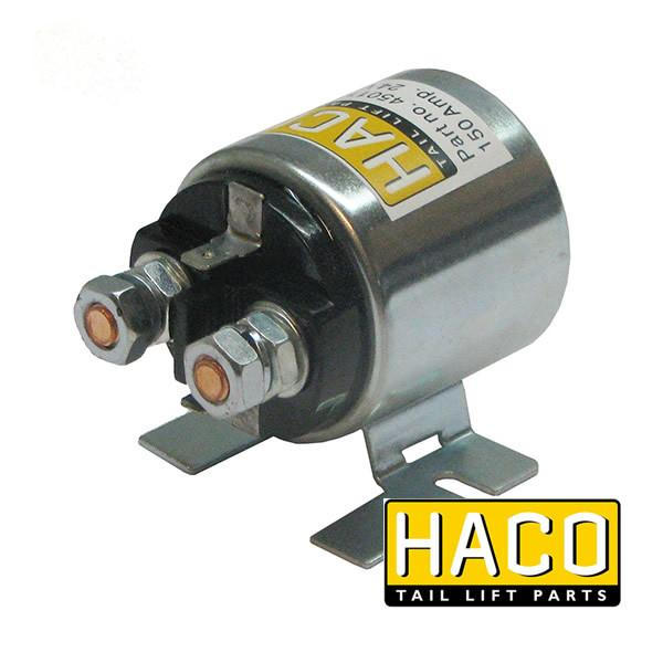 Starter solenoid 12V 150 Amp. HACO to suit 4696-217-8 , Haco Tail Lift Parts - HACO, Nationwide Trailer Parts Ltd