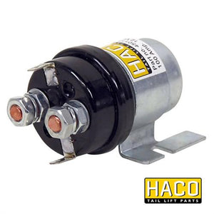 Starter Solenoid 24V 100 Amp HACO to Suit Zepro & Bar Cargolift , Haco Tail Lift Parts - HACO, Nationwide Trailer Parts Ltd
