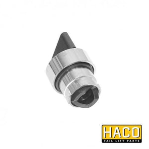 Rotary/Selector Switch HACO to suit E0089 , Haco Tail Lift Parts - Dhollandia, Nationwide Trailer Parts Ltd