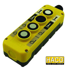 Control box 4-button 2xNO Mafelec to Suit Bar Cargolift 101127132 , Haco Tail Lift Parts - Bar Cargolift, Nationwide Trailer Parts Ltd