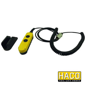 Manual control 2-button HACO to suit Dautel 69105 , Haco Tail Lift Parts - HACO, Nationwide Trailer Parts Ltd