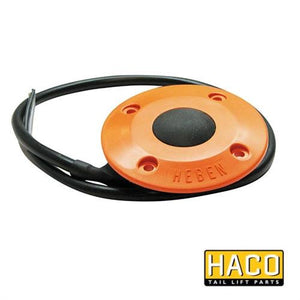 UP Footcontrol HACO to Suit Zepro 69088 , Haco Tail Lift Parts - HACO, Nationwide Trailer Parts Ltd