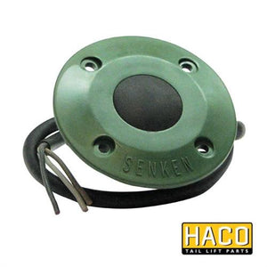 DOWN Footcontrol HACO to Suit Zepro 69087 , Haco Tail Lift Parts - HACO, Nationwide Trailer Parts Ltd