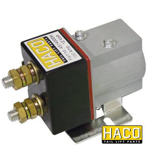 Starter Solenoid SW80-PE 12V 100 Amp HACO to Suit Zepro 21948 , Haco Tail Lift Parts - HACO, Nationwide Trailer Parts Ltd